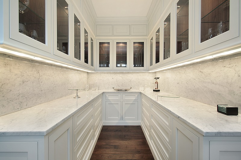 custom pantry for kitchen remodeling Canova