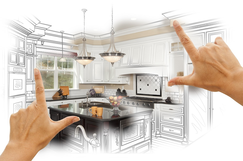 kitchen customization paint and electric in Circle