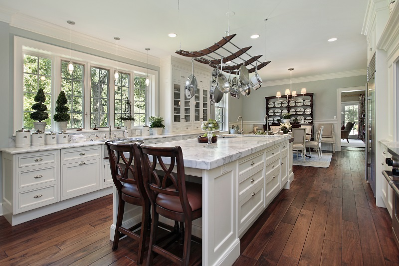 luxury kitchen flooring Littlejohn Island ME