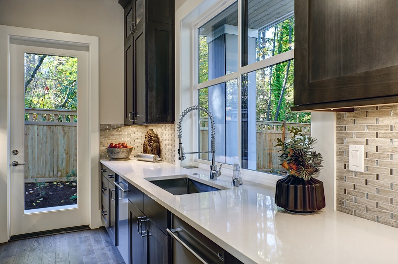 premium luxury counter tops customized for kitchen remodel in Circle Montana