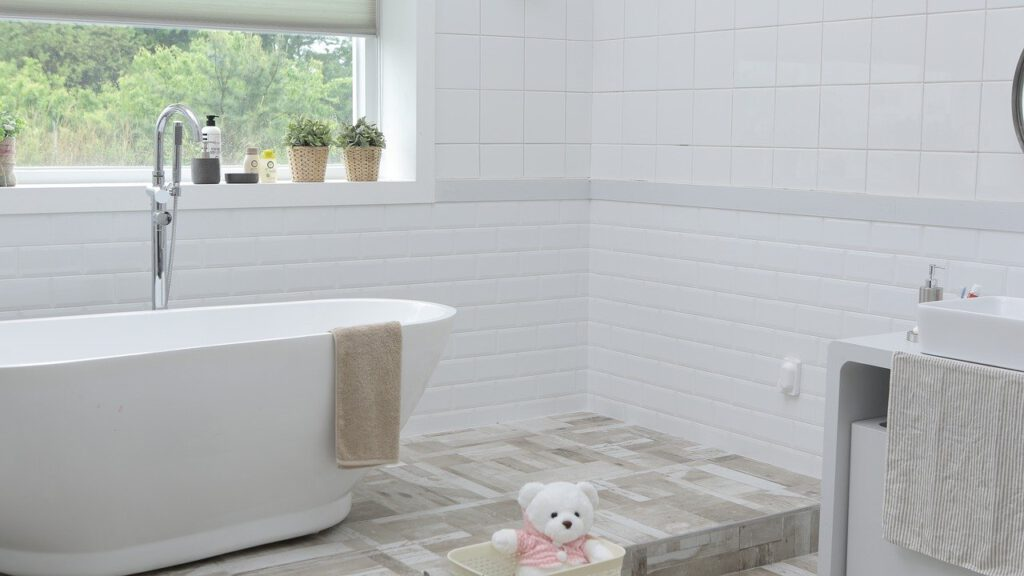 bathroom flooring in Belleville RI
